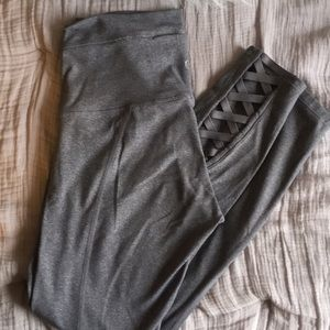 Grey Lululemon Yoga pants